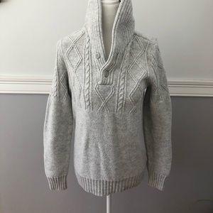American Eagle sweater grey Small
